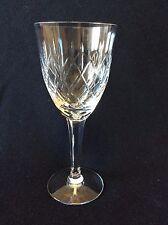 Cristal de Lemberg H 18,9 cm Lorraine verre à eau taillé XX ème C 1930