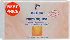 WELEDA NURSING TEABAGS 20 TEA BAGS 100% CERTIFIED ORGANIC