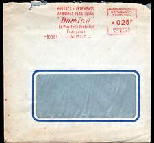 """MUTZIG (67) USINE de HOUSSES à VETEMENTS """"DOMINO / Roger LEISSNER"""" voyagée 1961"""