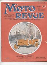 Moto Revue N°88 ; 15 novembre 1921 : la moto GNOME et RHONE 4 HP