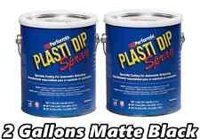 2 Gallon Plasti Dip Matte Black Spray Rubber Coating Ready to Spray Rubber Kit