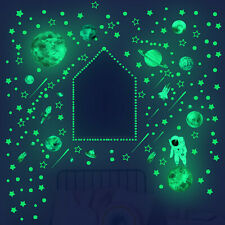 Leuchtende Sterne Planeten Wandtattoo Wandsticker Wandbild Kinderzimmer Deko