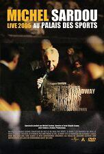 """DVD """"Michel Sardou : Live en el Palacio deportes 2005"""" NUEVO EN BLÍSTER"""