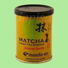 MATCHA SHIKI 2 cans x 1oz UNIVERSAL QUALITY MAEDA-EN GREEN TEA POWDER MADE JAPAN