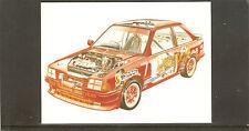 National Postal Museum cards. Datapost Racing Car. SS/36. 01/86.
