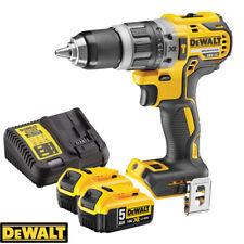 Sin cepillo de Dewalt DCD796N 18v Compacto Combi Taladro + 2 X 5Ah Pilas Y Cargador