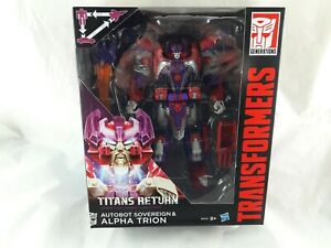 Transformers Generations Titans Return Sovereign & Alpha Trion Action Figure