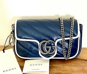 Gucci GG Marmont Shoulder Bag in leather