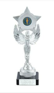 Victory Torch Unity Victory Award 230mm Trophy (K) ENGRAVED FREE