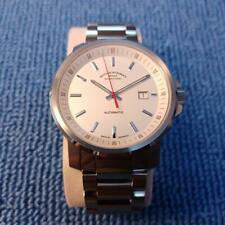 MUHLE GLASHUTTE AUTOMATIC Wristwatch From Japan Men's 42mm M1-25-30