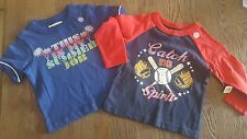 Boys Old Navy size 12-18 months shirt lot summer baseball