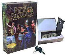 Paper Book Locking Booksafe with Key Lock Secret Hidden Safe Pride and Prejudice