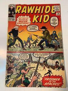 Rawhide Kid #34 1963-Stan Lee Marvel Western- 4.0
