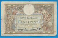 GERTROLEN  Billet 100 FRANCS  Luc Olivier Merson 4-7-1935  A.48887