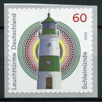 Germany Lighthouses Stamps 2020 MNH Schleimunde Lighthouse 1v S/A Coil Set
