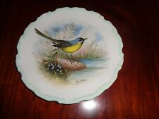 Royal Albert Collectors Plate GREY WAGTAIL From THE WOODLAND BIRDS COLLECTION
