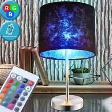 RGB LED Farbwechsel Hänge Textil Lampe dimmbar Gästezimmer Big Light
