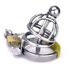 Slave Gimp Bondage Male Chastity Belt Chastity Device CBT Urethral Tube ZA099