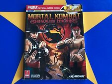 MORTAL KOMBAT SHAOLIN MONKS  - STRATEGY GUIDE