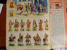 soldatini  corriere dei piccoli  LA BATTAGLIA DI MARATONA Greci Persiani anni 60