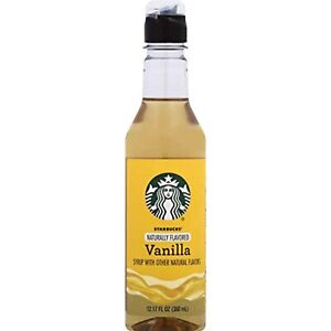 Starbucks Coffee Syrup, Vanilla