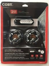 NEW SEALED Coby 2GB GO MP3 Audio Player COMBO PACK W/ Speakers 1000 Songs