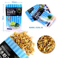 250ml Natural Shrimp Cocktail Turtle & Terrapin Food Koi Fish Reptile Supplies^