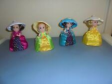 Lot Of 4    Cupcake Dolls