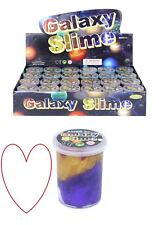 Galaxy slime pots universe space rainbow putty stocking filler