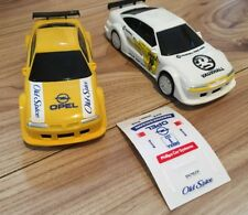 SCALEXTRIC SLOT CAR X2 CALIBRA C596 OLD SPICE C632 TEAM JOIST MINT COND TESTED