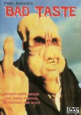 Bad TASTE (Dvd,2009) NEW SEALED U.S  Import REGION 0 Peter Jackson