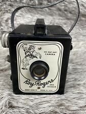 ROY ROGERS AND TRIGGER VINTAGE 620 SNAP SHOT CAMERA HERBERT GEORGE CO. CHICAGO