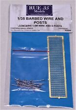 1/35 Rue35 Barbed Wire and Posts Diorama Accessory