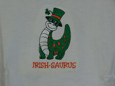 NEW IRISH-SAURUS KIDS EMBROIDERED SHIRT SIZE 4