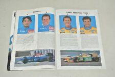 Grand prix de monaco programme 1993 - signé pilote  Schumacher katayama andretti