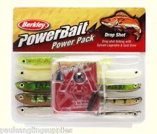 Berkley Power bait Dropshot Lure Fishing Kit - 1190703 Weights Fish Hooks