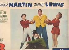 Dean Martin & Jerry Lewis 3 Ring Circus Lobby Card #7 Paramount Pictures 1954