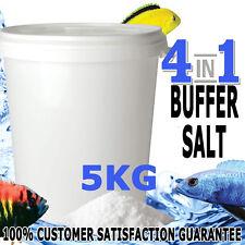 Aquaholics Aquarium Fish 4in1 Riftlake Salt Buffer African Cichlids GH KH PH 5KG