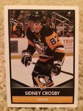 #186 Sidney Crosby Penguins 2016-17 Panini 16-17 NHL Hockey Sticker