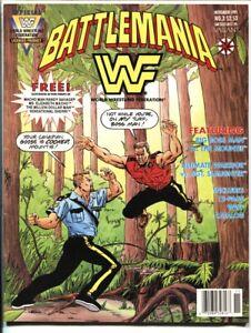 World Wrestling Federation Battlemania #3 1991 Valiant Comics
