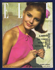 ▬►ELLE 907 /1963 BELMONDO_FRANÇOISE HARDY_BRIGITTE BARDOT_A.RAISNER_MODE FASHION
