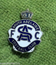 #D42.  1961  SOUTH  ADELAIDE FOOTBALL  CLUB   SANFL   BADGE