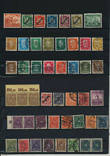 Germany, Deutsches Reich, Nazi, liquidation collection, stamps, Lot,used (TT 57)