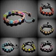 Modeschmuck-Armbänder aus Metall-Legierung mit Kristall für Damen