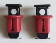 2 Pack MCB Lockout Lock Off Isolation  Device For Circuit Boards
