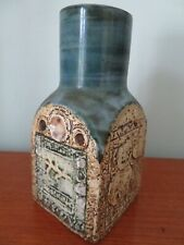 SUPERB TROIKA SPICE JAR; DECORATED BY JAN FITZGERALD(1976 -1983) GREAT CONDITION