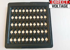 10 PCS 3 watt  full spectrum led chip , 400nm~840nm  Plant grow lights