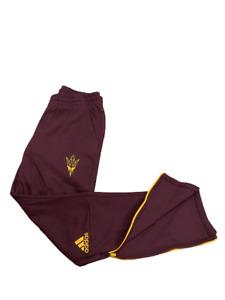 Adidas NCAA Arizona State Climalite Pants Burgundy/Yellow  CY9646