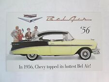 Franklin Mint Brochure 1956 Chevy Bel Air