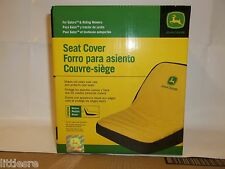 JOHN DEERE MEDIUM SEAT COVER FOR SEATS WITH 15in BACK REST LAWN TRACTORS LP92324